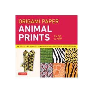 Origami Paper - Animal Prints - 8 1/4' - 49 Sheets Muu