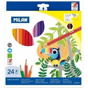 Fargeblyant Milan 24pk smooth