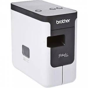 Brother P-touch P700 etikettrykkeren egnet for ruller: TZe, HMS 3,5 mm, 6 mm, 9 mm, 12 mm, 18 mm, 24 mm