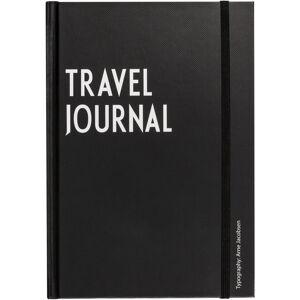 Design Letters Travel Journal, Svart