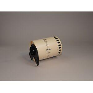 Brother Etiketter för Brother-skrivare, 102x152 mm, 200 st/rulle, 10 st rullar