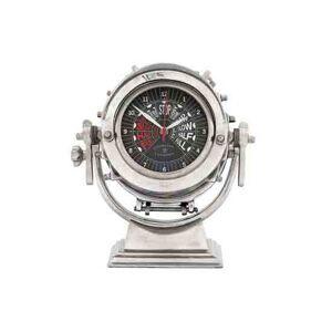 Eichholtz Clock Royal Master alum. polished