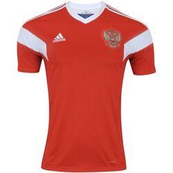 adidas Camisa Rússia I 2018 adidas - Masculina - VERMELHO