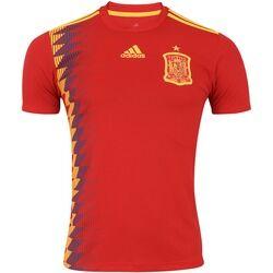 adidas Camisa Espanha I 2018 adidas - Masculina - VERMELHO