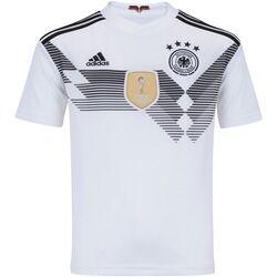 adidas Camisa Alemanha I 2018 adidas - Infantil - BRANCO/PRETO