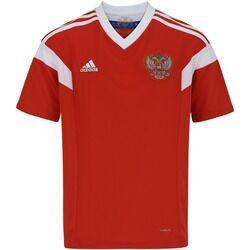 adidas Camisa Rússia I 2018 adidas - Infantil - VERMELHO