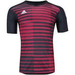 adidas Camisa de Goleiro adidas Adipro 18 - Masculina - CINZA ESC/VERMELHO