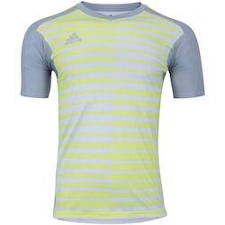adidas Camisa de Goleiro adidas Adipro 18 - Masculina - CINZA CLA/AMAREL CLA