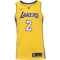 Nike Camisa Regata Nike NBA Los Angeles Lakers Lonzo Ball 2 - Masculina - AMARELO/ROXO