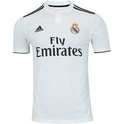 adidas Camisa Real Madrid I 18/19 adidas - Masculina - BRANCO