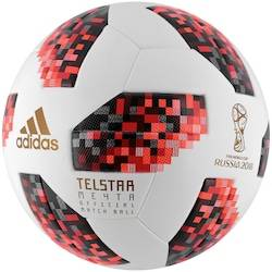 adidas Bola de Futebol de Campo Telstar Oficial Finais da Copa do Mundo FIFA 2018 adidas OMB - BRANCO/VERMELHO