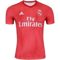 adidas Camisa Real Madrid III 18/19 adidas - Masculina - Coral