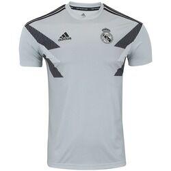 adidas Camisa Pré-Jogo Real Madrid 18/19 adidas - Masculina - CINZA/PRETO