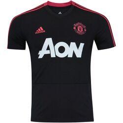 adidas Camisa de Treino Manchester United 18/19 adidas - Masculina - PRETO