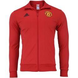 adidas Jaqueta Manchester United 3S 18/19 adidas - Masculina - VERMELHO