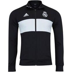 adidas Jaqueta Real Madrid 3S 18/19 adidas - Masculina - PRETO/BRANCO