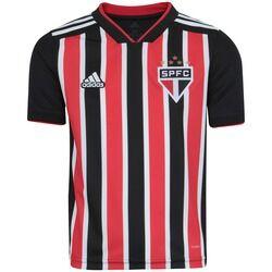adidas Camisa do São Paulo II 2018 adidas - Infantil - VERMELHO/BRANCO