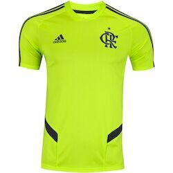 adidas Camisa de Treino do Flamengo 2019 adidas - Masculina - Amarelo Fluor