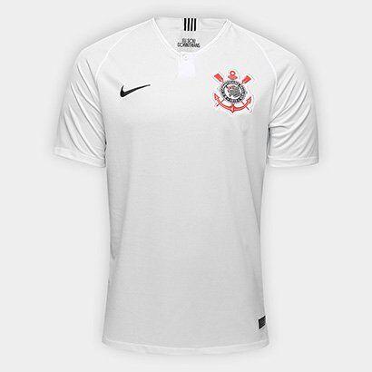 Camisa Corinthians I 18/19 s/n° Torcedor Nike Masculina - Masculino