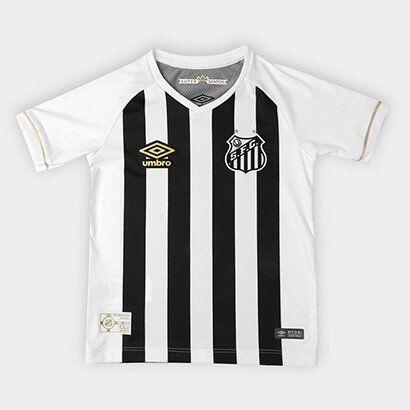 Camisa Santos II 2018  Infantil s/n° Torcedor Umbro - Unissex