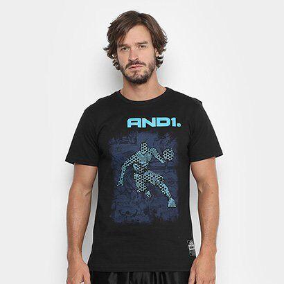 Camiseta And1 Comic Player Masculina - Masculino