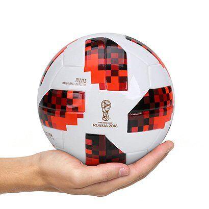 Mini Bola Adidas Telstar 18 Réplica Mata-Mata Copa do Mundo FIFA - Unissex