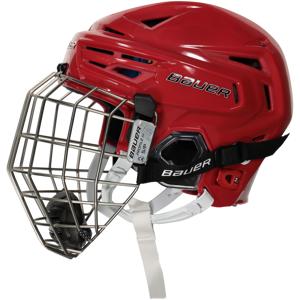 Bauer Re-akt 150 Helmet Combo RED