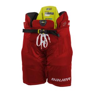 bauer S21 SUPREME 3S PRO PANT - JR 21/22, hockeybukse junior M/140-150 RED