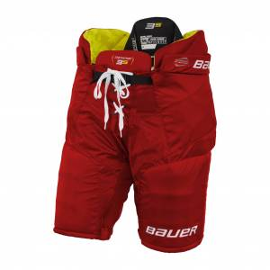 bauer S21 SUPREME 3S PANT - INT 21/22, hockeybukse intermediate M/147-165 RED