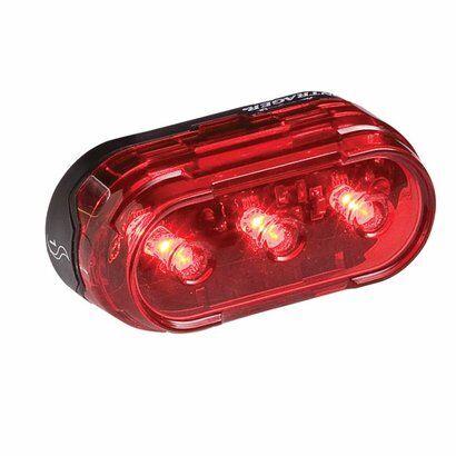 Lanterna Bontrager Flare 1 Tailight Traseira 3 Leds - Unissex