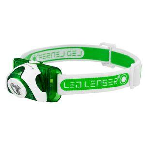 LED Lenser SEO3 hodelykt grønn