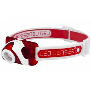 LED Lenser SEO5 hodelykt rød