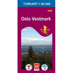 Turkart Oslo Vestmark 1:50 000