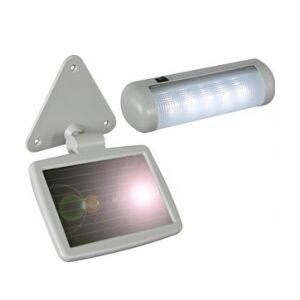 Solcelle LED lampe Udendørs solpanel TILBUD NU solcellepanel utendørs trunc pos