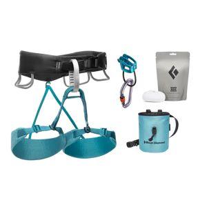 Black Diamond Momentum Harness - W'S Package Aqua Verde
