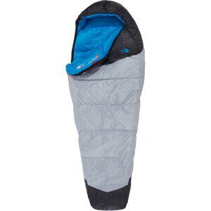 The North Face Blue Kazoo Sleeping Bag regular high rise grey/hyper blue Left Zipper 2019 Soveposer