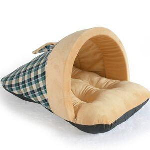 Newchic Pet Dog Cat Soft Warm Sleeping Bag Puppy Sleeping Cave House Winter Bed Mat