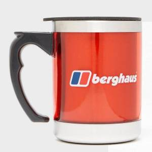 Berghaus New Berghaus Camping Travel Mug Red One Size