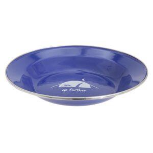 TRESPASS Overtredelse Davo emalje Camping Plate Blå One Size