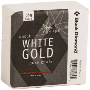 Black Diamond Solid White Gold - Block 56gr. Hvit