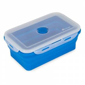 Arctic Tern Silicone Lunch Box Large Blå