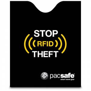 Pacsafe Pac Rfidsleeve 50 Sort