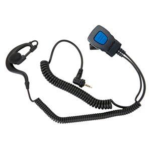 Lafayette Speaker Microphone Earhook 2,5 mm 4-pol Sort