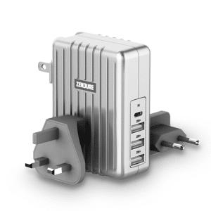 Zendure 45W 4-Port USB-C PD Wall Charger Grå