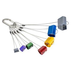 Black Diamond Wired Hexentric Set #4-10 Flerfarget
