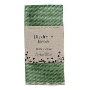 Växbo Lin Disktrasa 33x33 cm Bladgrön