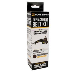 Sharp Work Sharp Slipband Till Worksharp Orginal, Medium P220 6-Pack