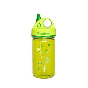 Drickflaska för barn - NALGENE Grip´n Gulp 0,375 L Ljusgrön