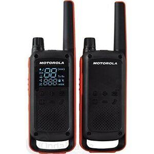 Motorola - Walkie-talkie Sæt - 2 Stk - 10 Km Rækkevidde - Sort Orange