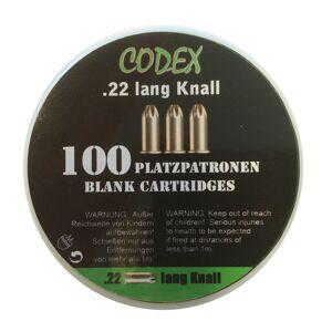 Codex Platzpatroner 22 Knall (Skal Afhentes I Butikken)